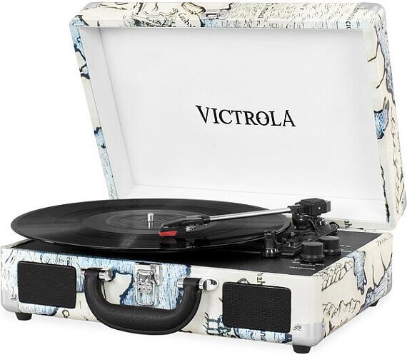 Victrola VSC-550BT gramofon vzor Maps
