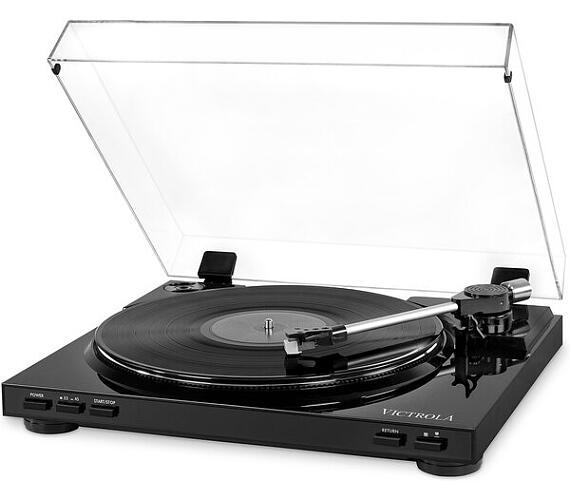 Victrola VPRO-3100 gramofon s USB černý
