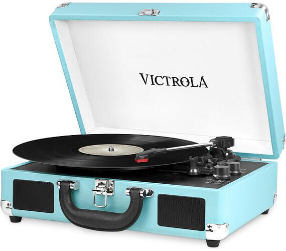 Victrola VSC-550BT gramofon tyrkysový