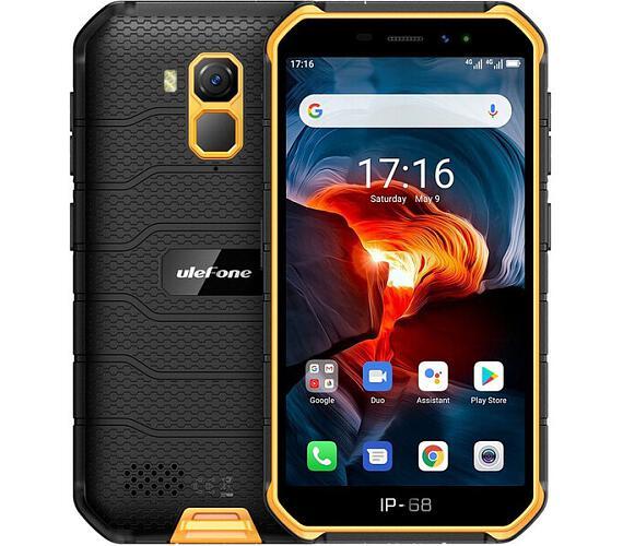 UleFone Armor X7 PRO Dual SIM 4GB+32GB oranžový (ULE000355) + DOPRAVA ZDARMA