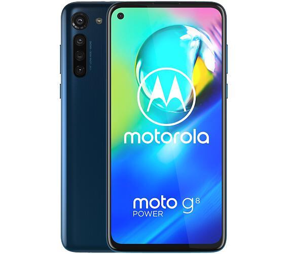 "Motorola Moto G8 Power - capri blue 6,4"" IPS/ Dual SIM/ 4GB/ 64GB/ LTE/ Android 10 (PAHF0005PL) + DOPRAVA ZDARMA"