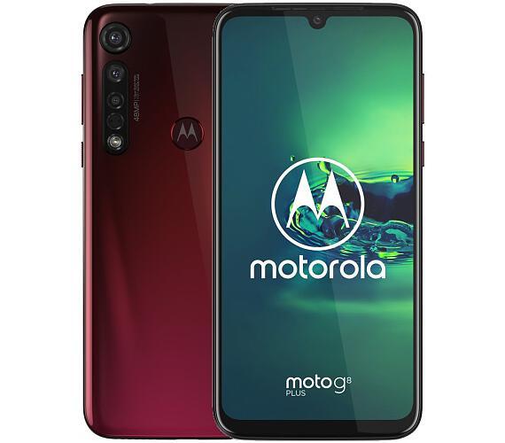 "Motorola Moto G8 Plus - crystal pink 6,3"" IPS/ Dual SIM/ 4GB/ 64GB/ LTE/ Android 9 (PAGE0008PL)"