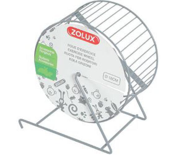 Kolotoč kovový průměr 14cm šedý Zolux