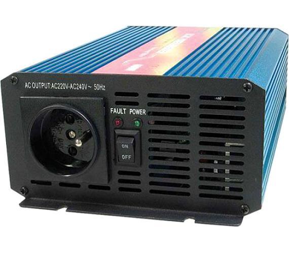 CARSPA P 600 24V/230V 600W čistá sinusovka + DOPRAVA ZDARMA