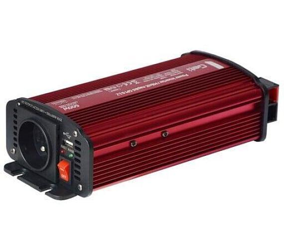 GETI GPI 612 12V/230V 600W USB + DOPRAVA ZDARMA