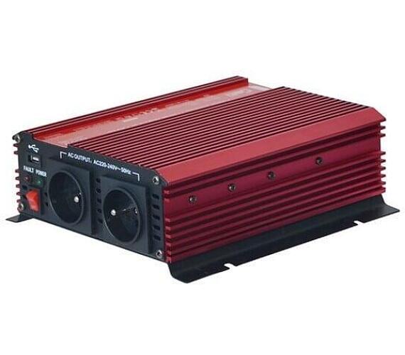 GETI GPI 1012 12V/230V 1000W USB + DOPRAVA ZDARMA