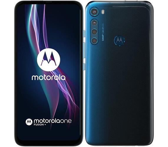 Motorola One Fusion+ Twilight Blue (PAJW0004PL) + DOPRAVA ZDARMA