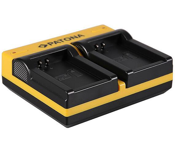 PATONA nabíječka Foto Dual Quick Canon LP-E12 USB (PT191652)