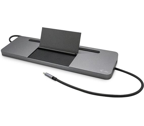 I-TEC USB-C Metal Low Profile Triple Display Docking Station + Power Delivery 85 W (C31FLATDOCKPDPRO)