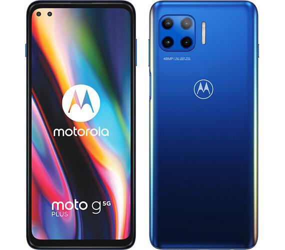 Motorola Moto G 5G Plus Surfing Blue (PAK90007PL)