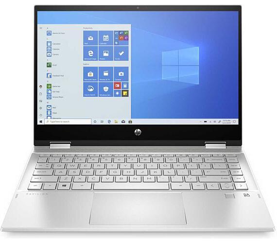 HP Pavilion x360 14-dw0005nc stříbrný (1V2E0EA)