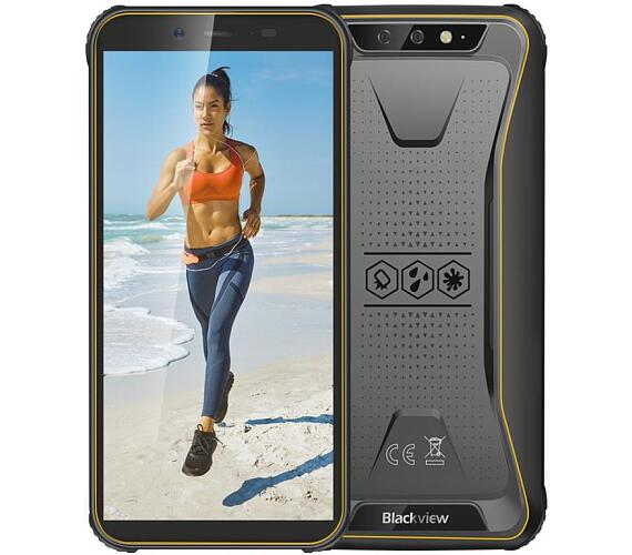 iGET Blackview GBV5500 Plus Yellow odolný telefon