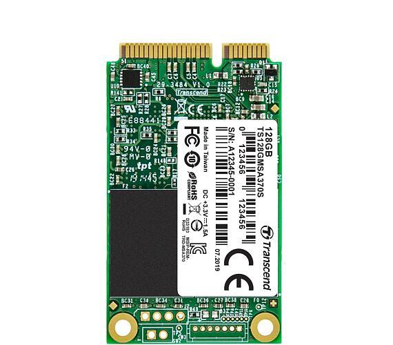 Transcend MSA370S 128GB SSD disk mSATA