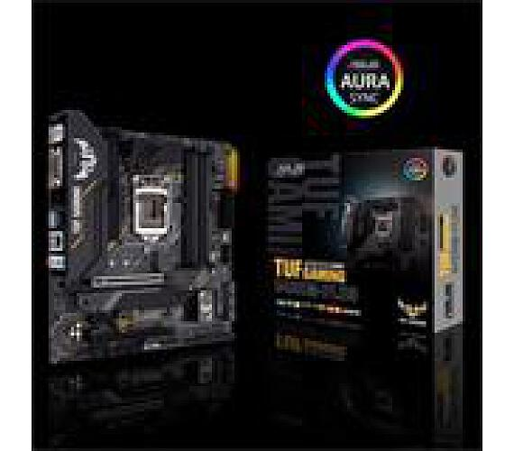 Asus TUF GAMING B460M-PLUS soc.1200 B460 DDR4 mATX M.2 DVI HDMI DP (90MB1450-M0EAY0)