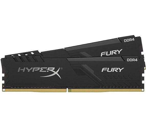 Kingston HyperX FURY 64GB DDR4 3000MHz / DIMM / CL16 / černá / KIT 2x 32GB (HX430C16FB3K2/64)