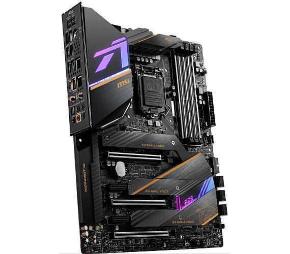 MSI MEG Z490 ACE / LGA1200 / Intel Z490 / 4x DDR4 DIMM / Wi-Fi / 3x M.2 / USB Type-C / ATX