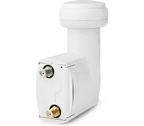 NEDIS univerzální LNB konvertor/ SatCR/ úroveň šumu: 0,2–0,8 dB (SLNBSCR11WT)