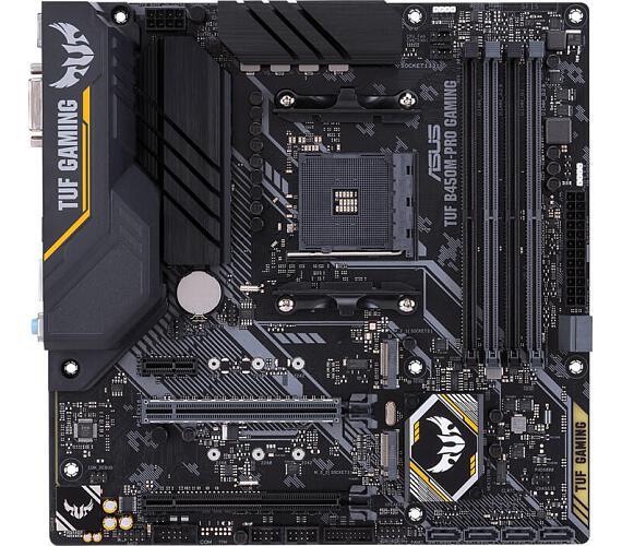 Asus TUF B450M-PRO GAMING soc.AM4 B450 DDR4 mATX M.2 USB-C DVI HDMI (90MB10A0-M0EAY0)