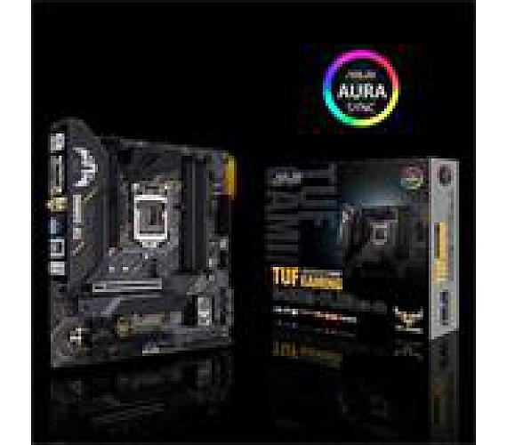 Asus TUF GAMING B460M-PLUS(WI-FI) soc.1200 B460 DDR4 mATX M.2 DVI HDMI DP BT soc. 1200 DDR4 (90MB1440-M0EAY0)