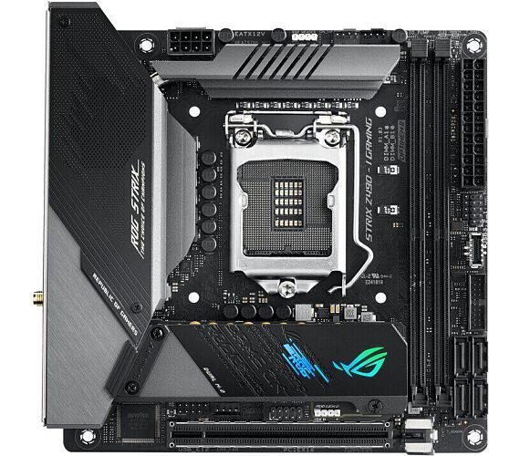 Asus ROG STRIX Z490-I GAMING soc. 1200 DDR4 (90MB13A0-M0EAY0) + DOPRAVA ZDARMA