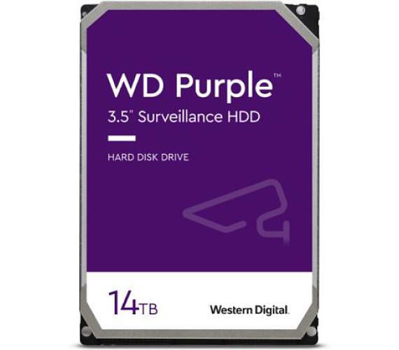 HDD 14TB WD140PURZ Purple 512MB SATAIII + DOPRAVA ZDARMA