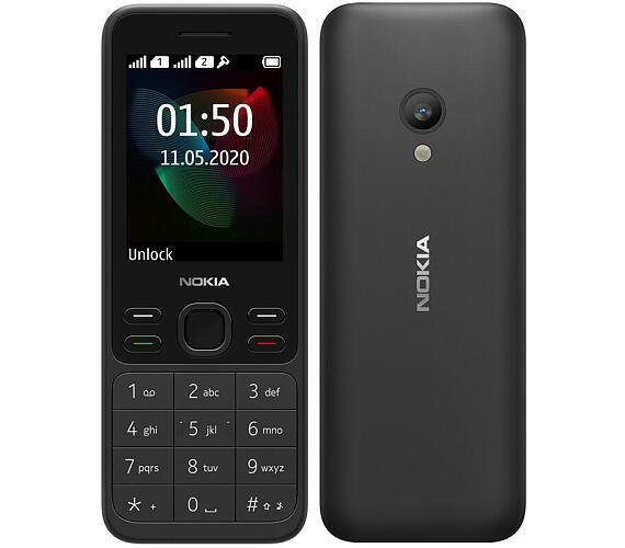 Nokia 150 Dual SIM 2020 černý (16GMNB01A05) + DOPRAVA ZDARMA