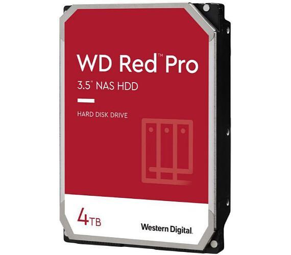 "WD RED Pro (NAS) - 3,5"" / 4TB / 7200rpm / SATA-III / 256 cache / WD4003FFBX"