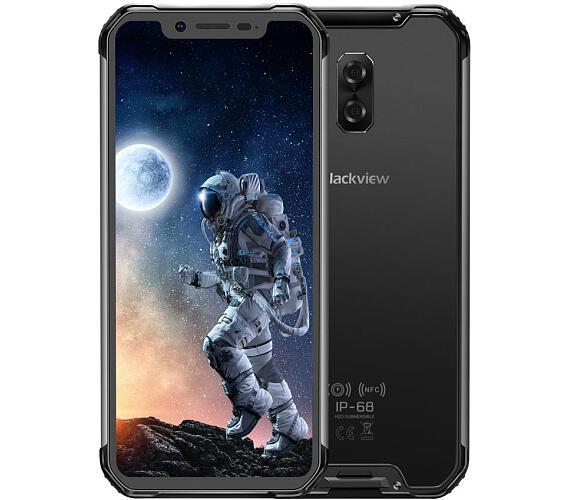 iGET Blackview GBV9600E Black odolný dle MIL-STD-810G + DOPRAVA ZDARMA