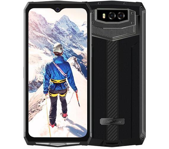 iGET Blackview GBV9100 Black odolný telefon