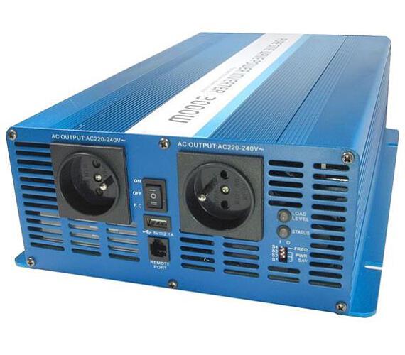 CARSPA SK3000 12V/230V 3000W čistá sinusovka