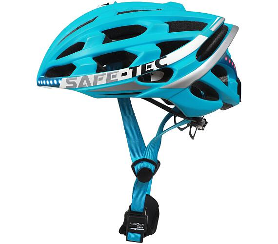 SAFE-TEC TYR 2 Turquoise L (58cm - 61cm) + DOPRAVA ZDARMA