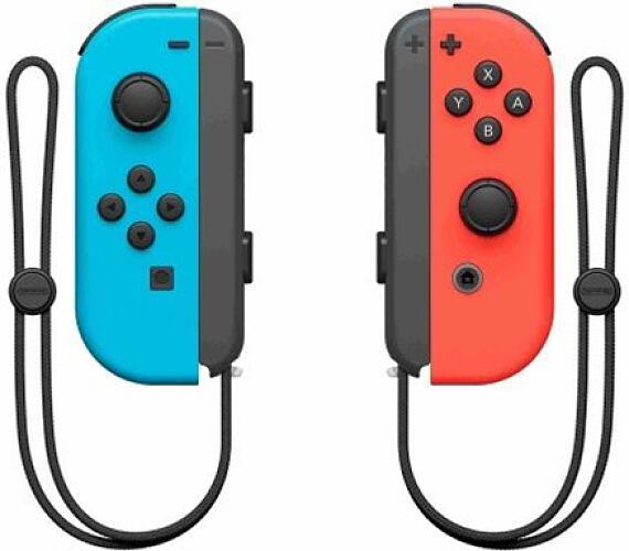 Nintendo Joy-Con Pair Neon Red/Neon Blue