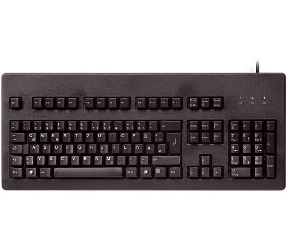 CHERRY G80-3000 BLUE SWITCH mechanická klávesnice EU layout černá (G80-3000LSCEU-2)