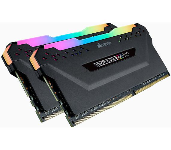 Corsair DDR4 16GB (2x8GB) Vengeance RGB PRO DIMM 4000MHz CL19 černá (CMW16GX4M2K4000C19)