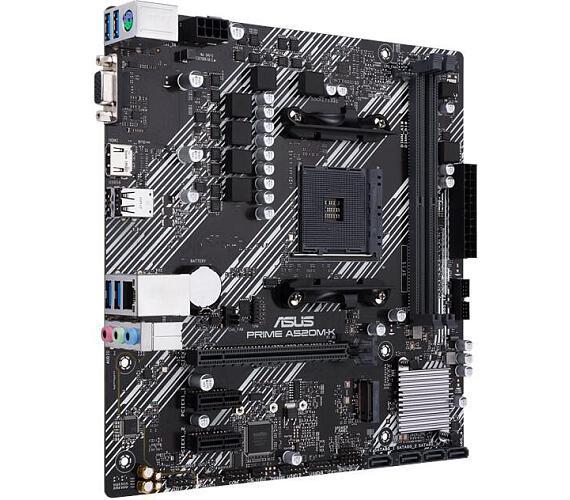 Asus PRIME A520M-K soc.AM4 A520 DDR4 mATX M.2 D-Sub HDMI (90MB1500-M0EAY0)