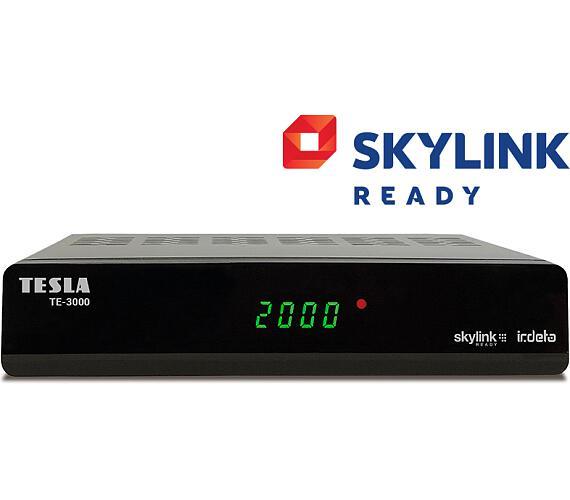 Tesla TE-3000 satelitní přijímač Irdeto Skylink READY + DOPRAVA ZDARMA
