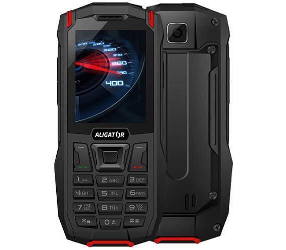 Aligator K50 eXtremo 4G/LTE černo-červený + DOPRAVA ZDARMA