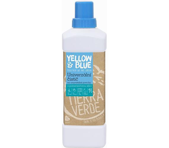 Yellow&Blue Univerzální čistič (1 l) - s pomerančovou silicí