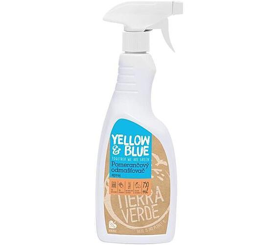 Yellow&Blue Pomerančový odmašťovač (sprej 750 ml) - praktický univerzální čistič