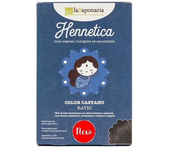 laSaponaria Přírodní barva na vlasy Ratri BIO (100 g) - tmavý kaštan