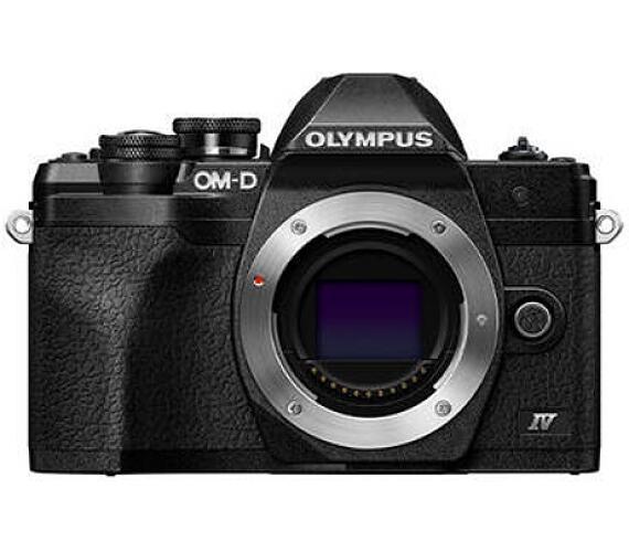 Olympus E-M10 Mark IV body black + záruka 6 měsíců po registraci na stránkách Olympus* + DOPRAVA ZDA