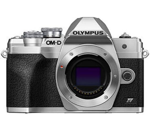 Olympus E-M10 Mark IV body silver + záruka 6 měsíců po registraci na stránkách Olympus*