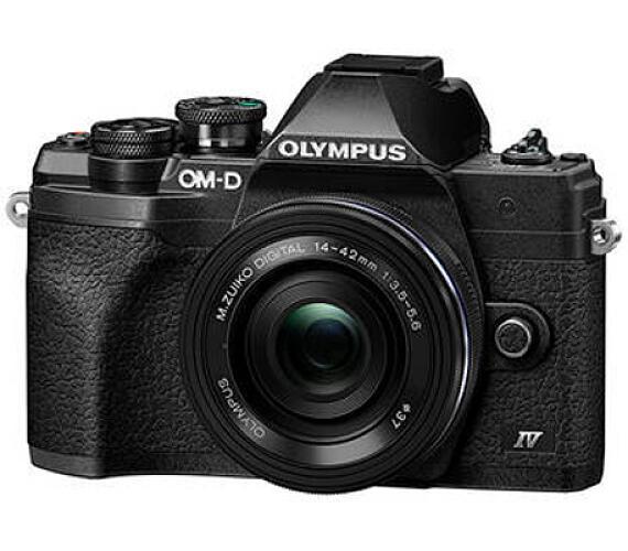 Olympus E-M10 Mark IV 1442 EZ kit black/black + DOPRAVA ZDARMA