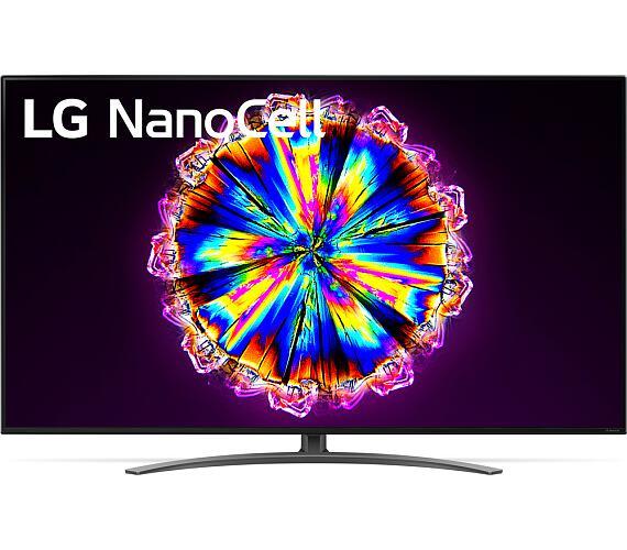 LG 65NANO91 NanoCell + DVB-T2 OVĚŘENO + DOPRAVA ZDARMA