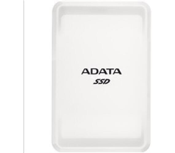 ADATA External SSD 500GB SC685 USB 3.2 Gen2 type C bílá (ASC685-500GU32G2-CWH)
