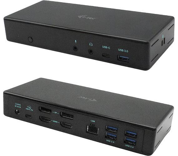 I-TEC USB-C Quattro Display Docking Station with Power Delivery 85 W (C31QUATTRODOCKPD)
