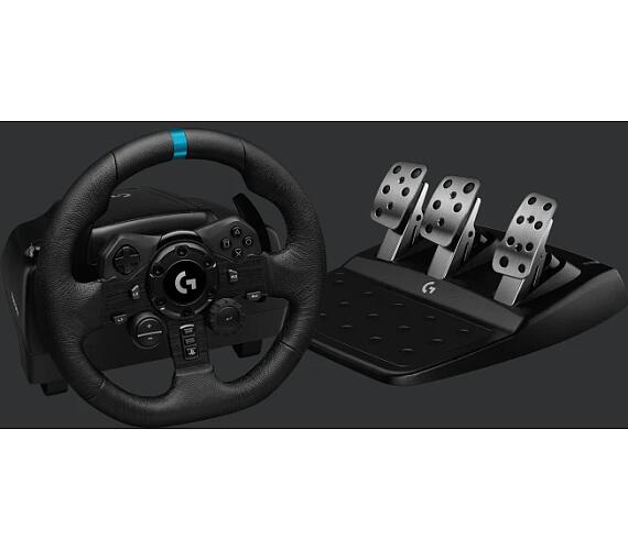 Logitech volant G923 Racing Wheel and Pedals pro PS4 a PC (941-000149)