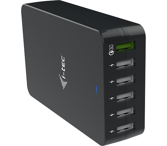 I-TEC USB Smart Charger 6x USB-A Port 52W (CHARGER6P52W)
