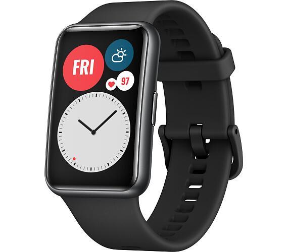 HUAWEI Watch Fit Black (55025875) + DOPRAVA ZDARMA