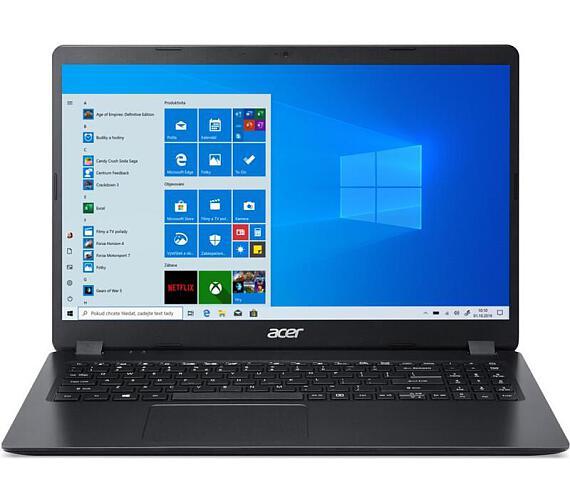 "Acer Extensa 215 (EX215-52-38L0) i3-1005G1/4GB+4GB/256 GB SSD+N/UHD Graphics/15.6"" FHD matný/W10 Pro/Černý (NX.EG8EC.004) + DOPRAVA ZDARMA"